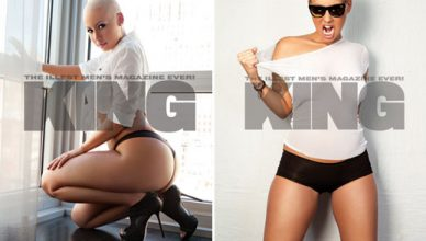 King Magazine Amber Rose Photo